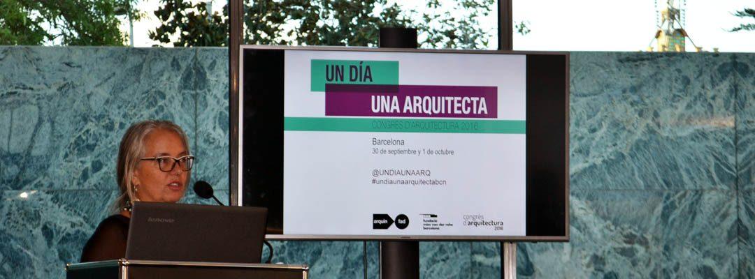 Gràcies a l'equip d'Un día / una arquitecta per visibilitzar les dones arquitectes. Un luxe haver participat!