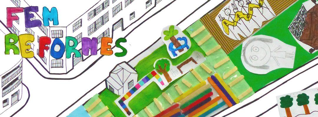 Tallers de disseny urbà a l'Escola Torre Balldovina