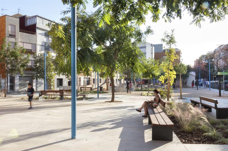 Equal Saree Barcelona urbanismo arquitectura feminista género patios coeducativos infancia participación espacio público