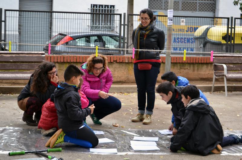 Tallers a la plaça_Fem dissabte a la Plaça d'en Baró_Equal Saree_12