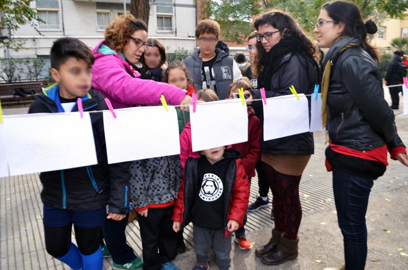 Tallers a la plaça_Fem dissabte a la Plaça d'en Baró_Equal Saree_14