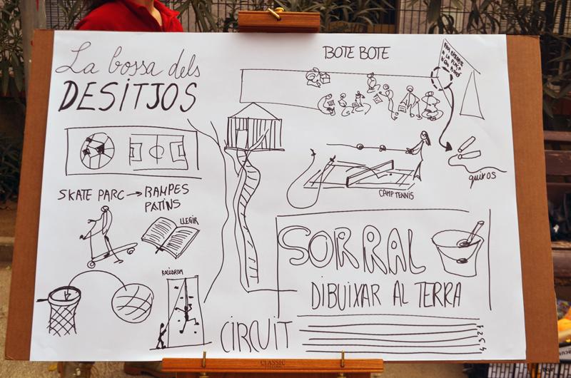 Tallers a la plaça_Fem dissabte a la Plaça d'en Baró_Equal Saree_8