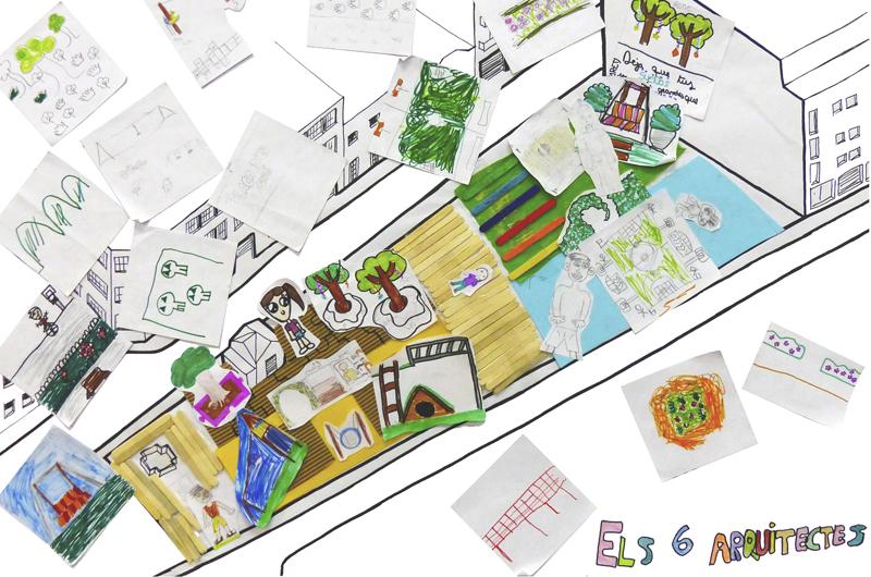 Tallers a l'escola_Fem dissabte a la Plaça d'en Baró_Equal Saree_11