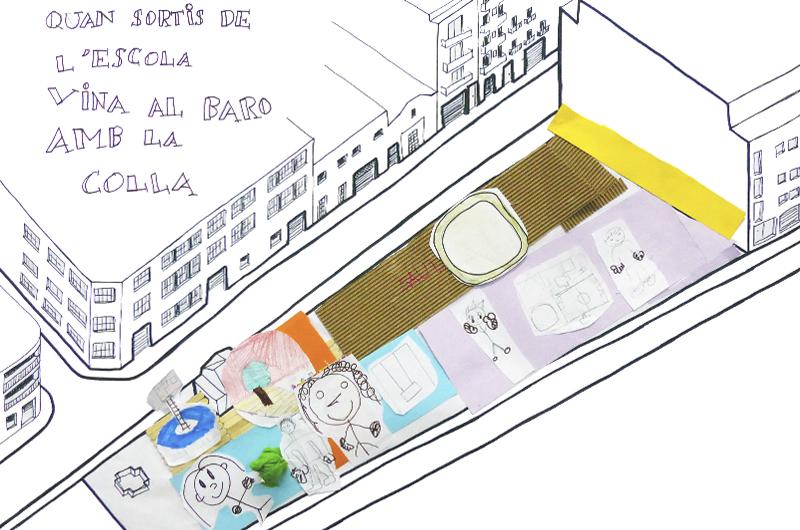 Tallers a l'escola_Fem dissabte a la Plaça d'en Baró_Equal Saree_13