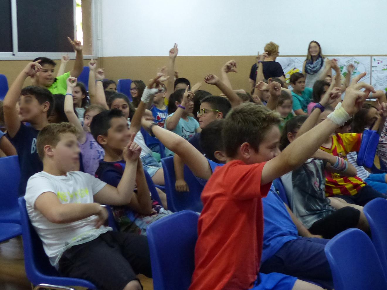 Tallers a l'escola_Fem dissabte a la Plaça d'en Baró_Equal Saree_08