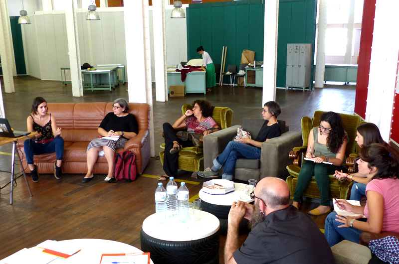 Equal Saree Barcelona urbanismo arquitectura feminista género patios coeducativos formación