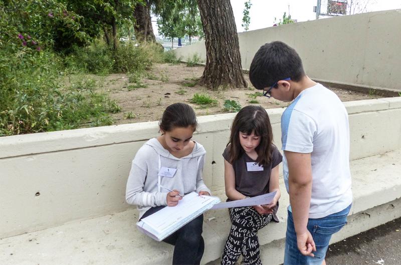 Salzelúdic_Explorem el passeig_Posada en comú_Escola Santa Coloma_Equal Saree 2