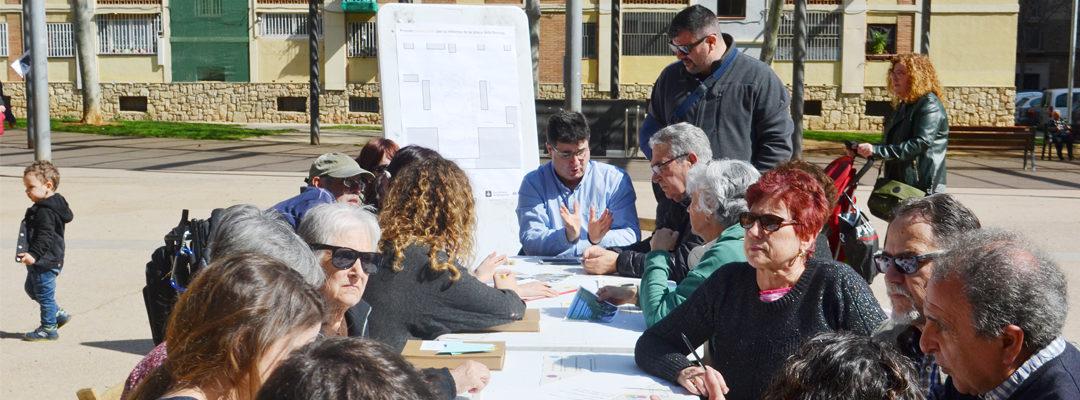 Finalitzat el procés participatiu de la Plaça dels Porxos.