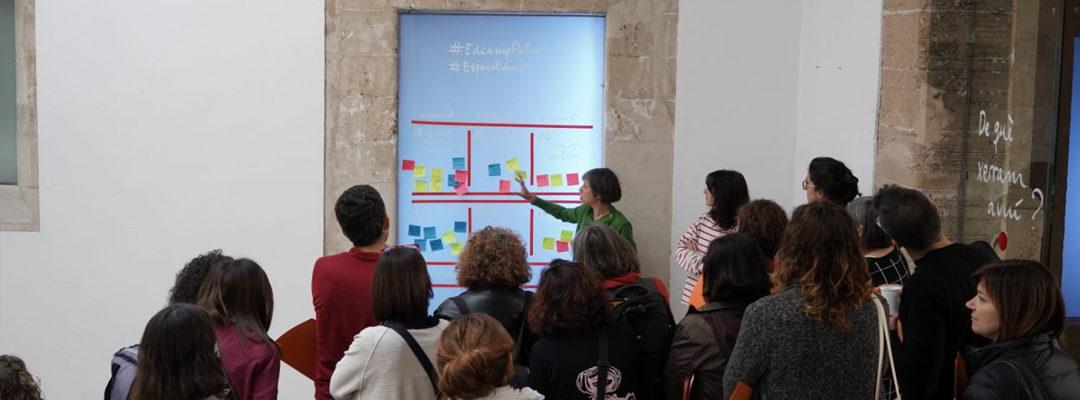 La transformació dels espais educatius, eix central a l' #EdCamp Palma