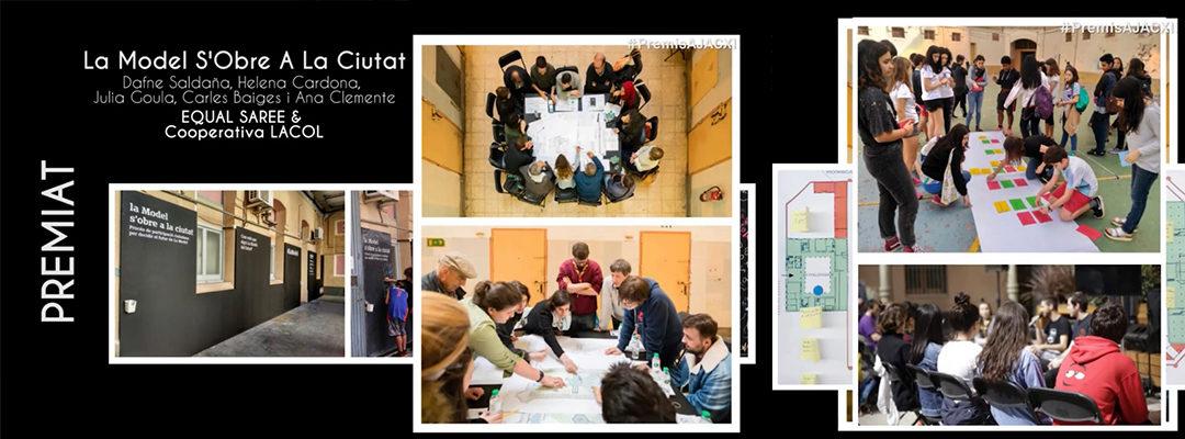 """El procés participatiu """"La Model s'obre a la ciutat"""" premiat als Premis AJAC XII!"""